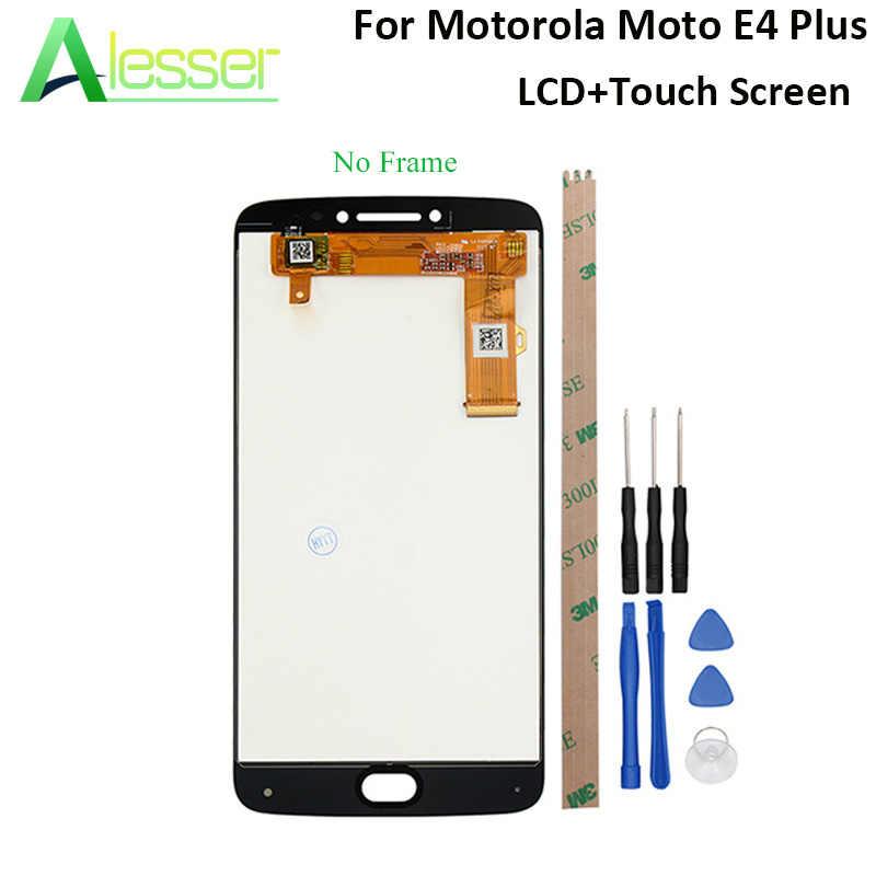 Alesser для Motorola Moto E4 Plus ЖК дисплей и сенсорный экран дигитайзер сборка с
