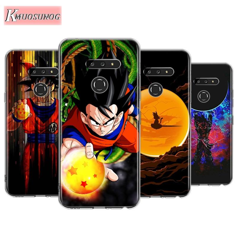 Goku Dragon Ball Star For LG W30 W10 V50S V50 V40 V30 K50S K40S K30 K20 Q60 Q8 Q7 Q6 G8 G7 G6 Thinq Phone Case