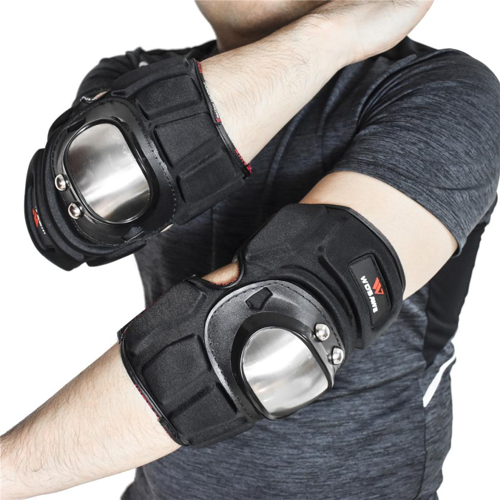 Adult Elbow Pads Safety Guards Protective Gear for Roller Skates/Skateboard/Scooter/BMX MTB Bike Riding