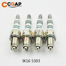 4 teile/los Iridium Power Kerze Zündkerzen IK16 5303 IKH16 5343 IK20 5304 IKH20 5344 IK22 5310 IKH22 5345 für toyota Nissan Honda