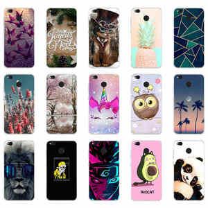 Cases For xiaomi Redmi 4X Case Cover Silicon Cute Cover For xiaomi Redmi 4X Case Cover For Redmi 4X Phone case