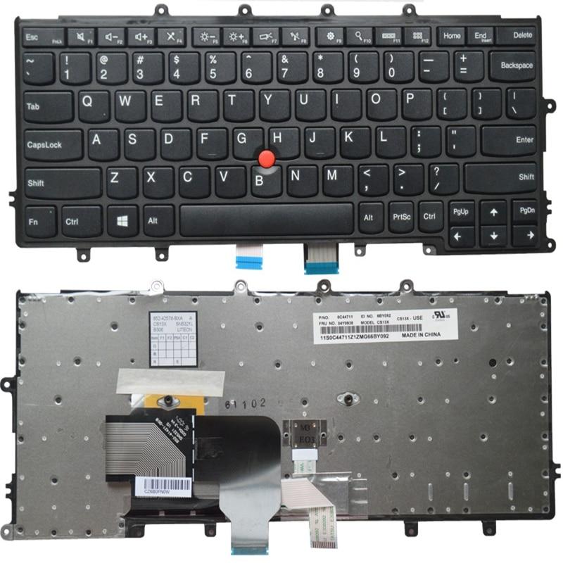 GZEELE English US Laptop Keyboard For LENOVO FOR Thinkpad X230S X240 X240S X250 X250S X240i X270 X260S Laptop Without Backlight