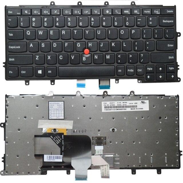 Thinkpad X230S X240 X240S X250 X250S x240i X270 X260S 노트북 백라이트 용 LENOVO 용 US/RU/SP/JP/AR 노트북 키보드