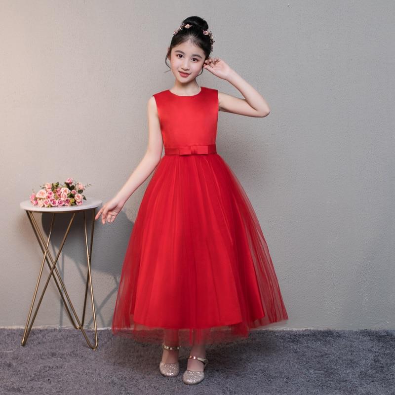 CHILDREN'S DAY Girls Chinese-style Dress Cheongsam Children Two-Piece Set Princess Dress Formal Dress Tutu Performance Wear