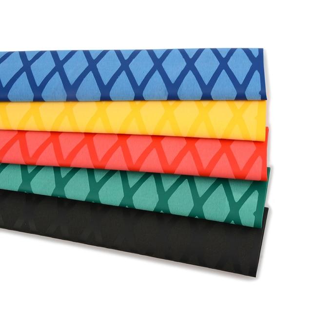 1Meter Heat-shrinkable tube sweat-absorbing belt anti-skid anti-electric pattern handle sleeve for fishing rod/Badminton racket 2