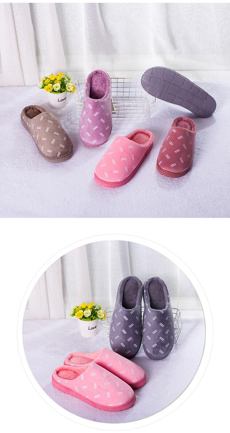 H83ccfee3c21e4f19906c58585fa51e95y Kunhyshoo chinelos femininos de inverno, chinelos para mulheres, área interna simples, quente, de algodão, para casal, sapatos para casa