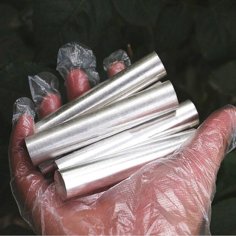 5 штук вакуумных магниевых стержней 8x60 мм магниевых стержней магниевых металлических стержней 99.99% чистый