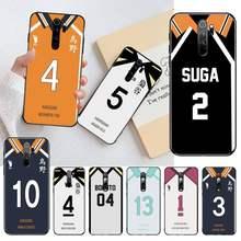 Haikyuu personalizado jérsei caso de telefone capa para redmi nota 8 8a 8t 7 6 6a 5 5a 4 4x 4a go pro