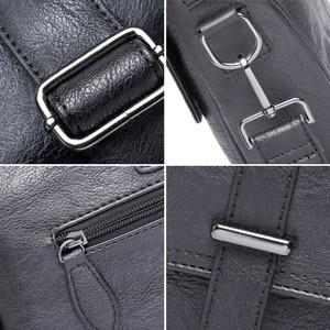 Image 5 - Scione sac daffaires en cuir pour hommes, sacoche de bureau mallette en cuir, fourre tout pour hommes, nouvelle collection ordinateur Portable Messenger