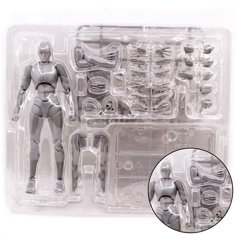 Movable <font><b>Body</b></font> Chan Joint <font><b>Action</b></font> <font><b>Figure</b></font> Toy Model 15CM Sketch Draw Male Female Draw Mannequin For SHF image