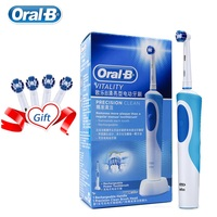 Oral B Electric Toothbrush 2D Rotary Deep Clean Teeth Waterproof Rechargeable Every Toothbrush With 4 Gift Refill