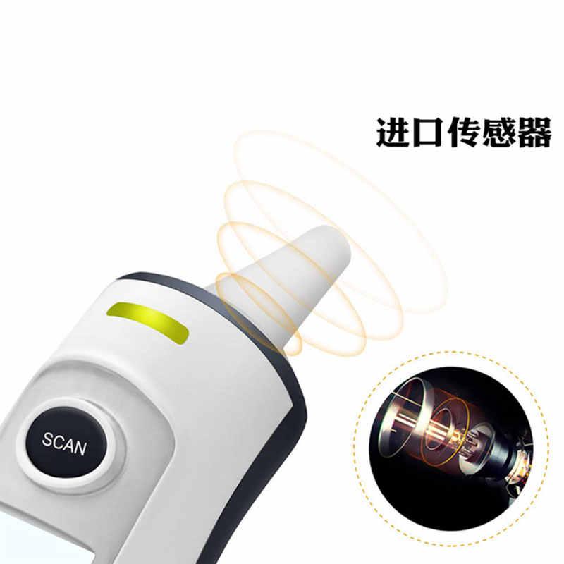 ขายร้อนเครื่องวัดอุณหภูมิอินฟราเรดดิจิตอล LCD เด็กทารกหน้าผากหู Non-Contact ผู้ใหญ่ไข้การวัด Termometro Health Care