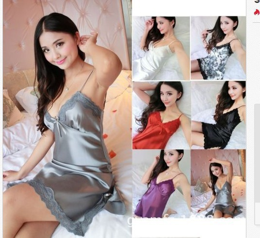 Sexy Lingerie Lingerie Pajamas Summer V-Neck Lounge Lingerie Sleep Wear for Women Bathrobe Vestidos De Verano Home Dress Women