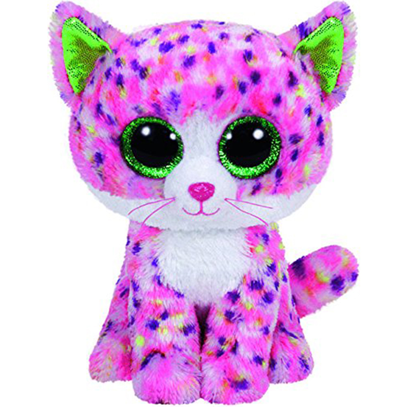 Ty Sophie The Pink Cat Plush Animal Toys Stuffed Doll Gift 15cm