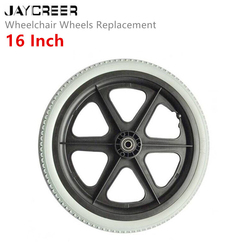 JayCreer 16 Inch WheelChair Wheels Replacement For Wheelchairs, Walkers