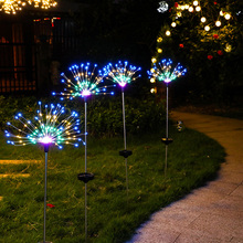 Fireworks-Lights Lawn Ground Christmas Led Outdoor Solar Home Garden Decoration-Lamp