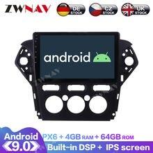 Android 90 с dsp carplay ips экран для ford mondeo mk4 2011