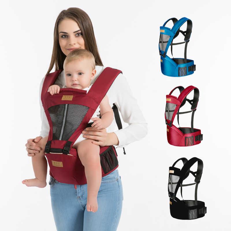 Mochila portabebés meses ergonómico portabebés cabestrillo bebé gabesy ergonómico cadera envoltura llevar niños hacer Dropshipping