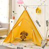 Baby Teepee 1M Birthday Gift Folding Indian Children���s Tent Wigwam Dog Cat Pig Canopy Kids Tipi Indoor Play House Infant Toy