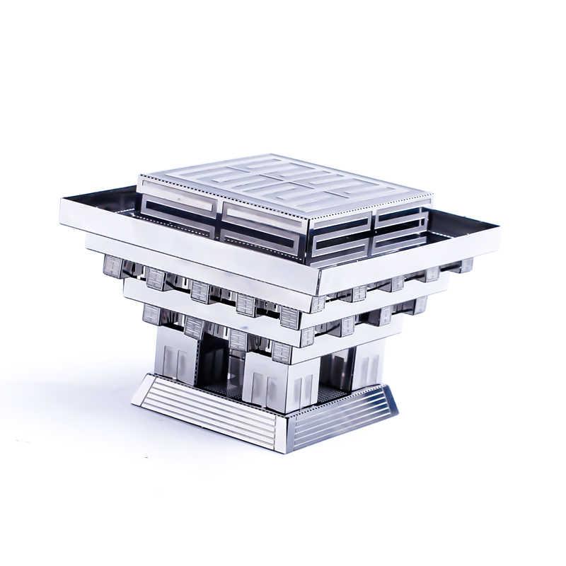 Lain-Lain 3D Logam Teka-teki Model Kit Perahu Bangunan Kapal Merakit Jigsaw Dewasa Hadiah Mainan Star Wars Collection