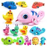 動物ロープ時計じかけのおもちゃ ABS グローイングおもちゃ子供のジャンプ鶏ユニコーンの子タコ玩具少年子供プルバック