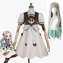 Anime Jibaku Shounen Hanako kun Nene Yashiro Cosplay Kostüm Perücke Frauen Kleid für Halloween Party Wc-Gebunden Hanako-kun(China)