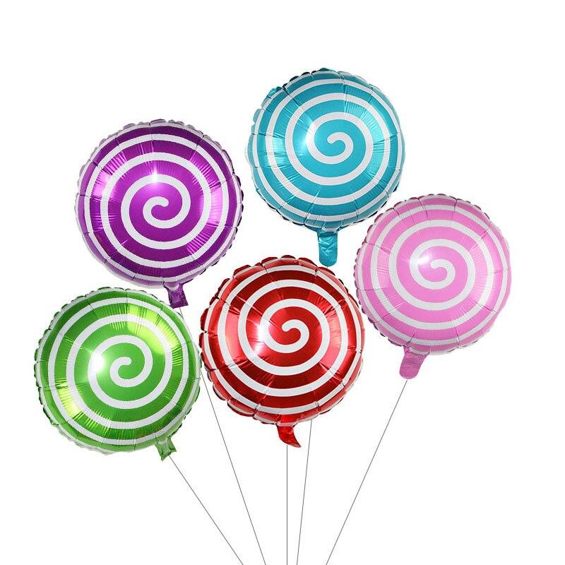 1-3 шт 18 дюймов леденец фольги воздушный шар конфеты мельница точка Алюминиевые шарики для свадьбы детский душ товары для дня рождения Детски... смотреть на Алиэкспресс Иркутск в рублях