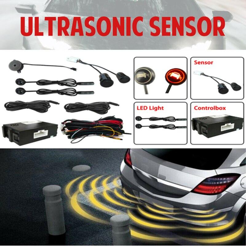 Система обнаружения радаров для автомобильных слепых зон, ультразвуковая сенсорная система, ассистирующий датчик расстояния, смена полосы...