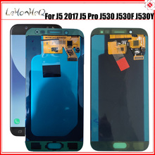 J530 Lcd Origineel Voor Samsung Galaxy J5 2017 J530 Lcd Display J5 Pro J530F Touch Screen Digitizer Vergadering Voor Samsung j530 Lcd