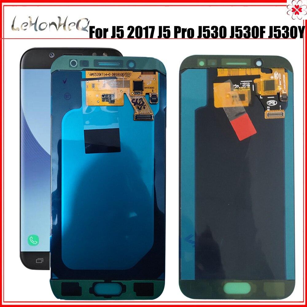 J530 lcd original para samsung galaxy j5 2017 j530 display lcd j5  pro j530f tela de toque digitador assembléia para samsung j530 lcdLCDs  de celular