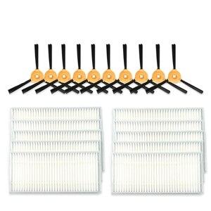 Szczotka boczna filtra do Ecovacs Deebot N79S N79 Eufy Robovac 11/11C części do czyszczenia próżniowego