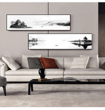 Китайская абстрактная картина маслом в стиле Дзен пейзаж на холсте плакаты и принты настенные картины для гостиной домашний Декор без рамк...
