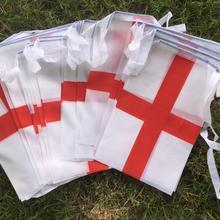 Английские флаги с 30 шт Вымпел гирлянда с флажками вечерние праздничные праздники