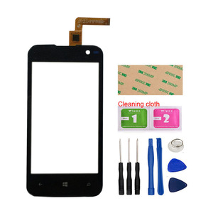 Image 2 - Touch Screen Glass For Archos 40 Cesium Touch Screen Front Glass Mobile Phone Touch Panel Lens Sensor Tools 3M Glue Wipes