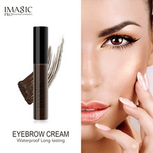 IMAGIC 4 Colors Long Lasting Waterproof Eyebrow Mascara Cream Eye Brow Shadow Makeup Beauty Tools Gel Enhancer