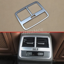 For Audi A4 B9 A5 F5 2016 2017 2018 2019 2020 Interior Armrest Box Rear Air Vent Cover Trims