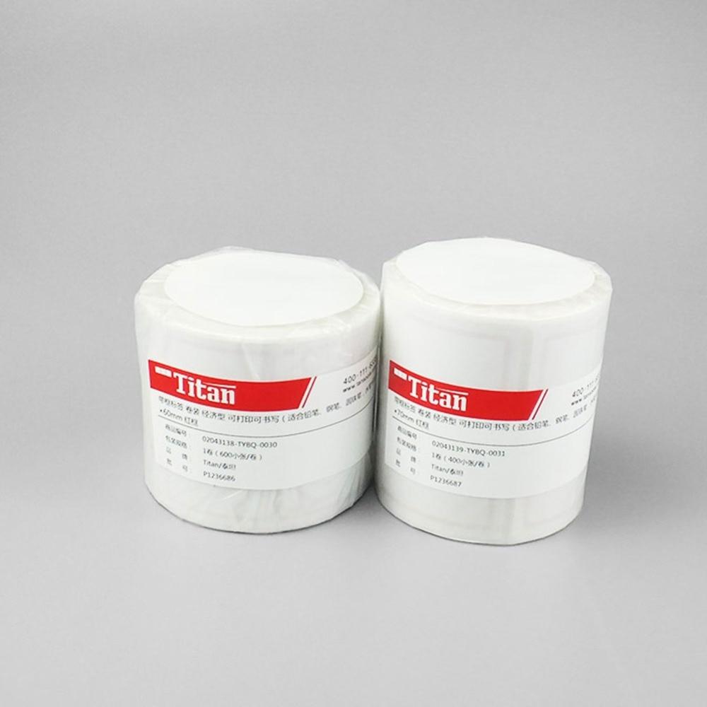 garrafa do reagente do laboratório 40x60mm etiqueta