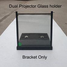 1 Paris 15*15cm/20*20cm/12*12cm 3D polarize braketi projektörler destek askı Imax sinemalar polarize filtre tutucu kelepçe