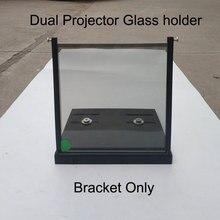 Soporte polarizador 3D para proyectores, 1 Paris, 15x15cm/20x20cm/12x12cm, soporte de fijación para filtros polarizados Imax cines
