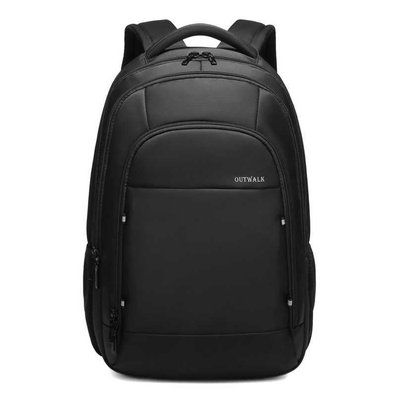 Mochila para hombre de gran capacidad apta para ordenador portátil de 15,6 pulgadas impermeable y transpirable mochila portátil mochila Casual de estilo de viaje