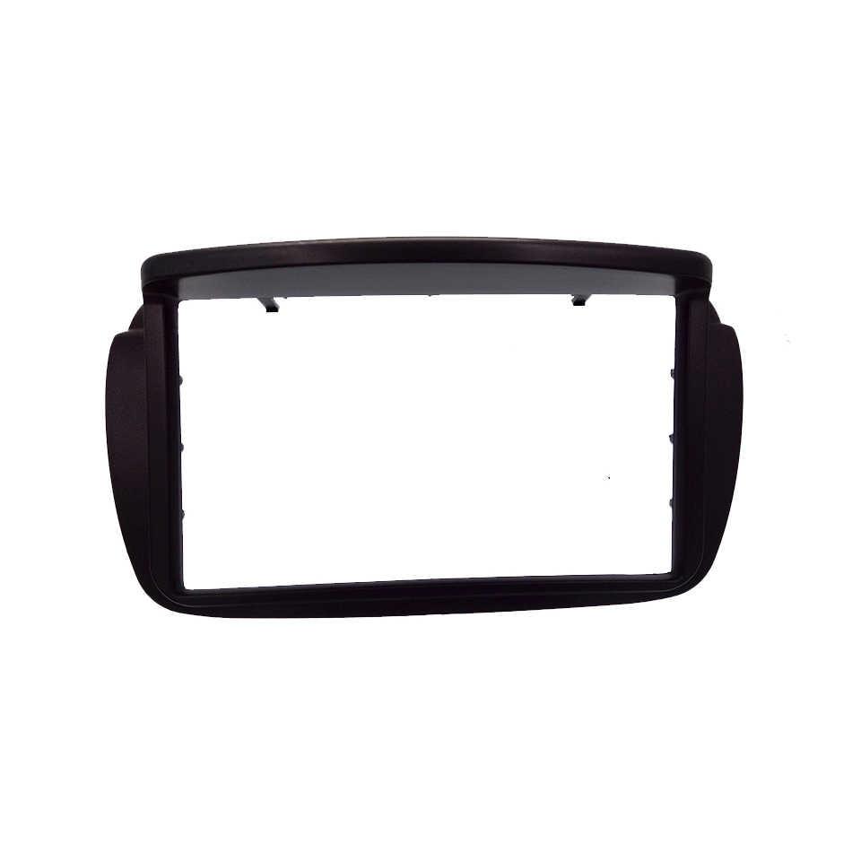 2DIN רכב רדיו Fascia עבור פיאט Doblo 2010 + עבור אופל קומבו DVD סטריאו מסגרת לוח דאש התקנה הרכבה Tirm ערכת לוח