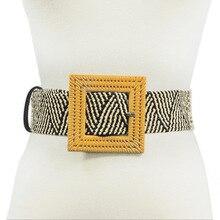 Canvas Belts for Womne Fashion International Trend 5cm Width Belts