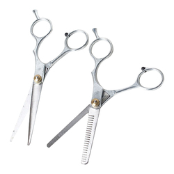 Popular 1Pcs Professional Stainless steel Barber Hair Cutting&Thinning Scissor Shears Hairdressing