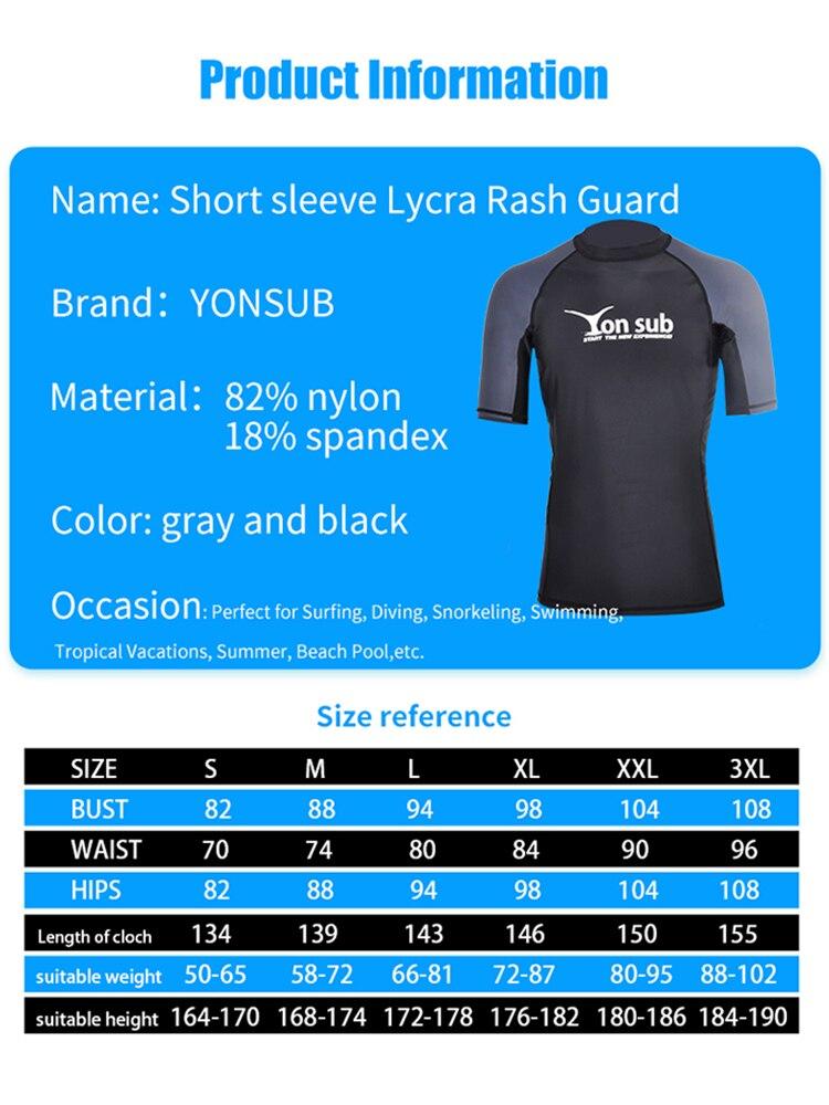 Body Glove Rash Vest Basic Men Black Lycra T-Shirt Shirt Swim Kite Surf