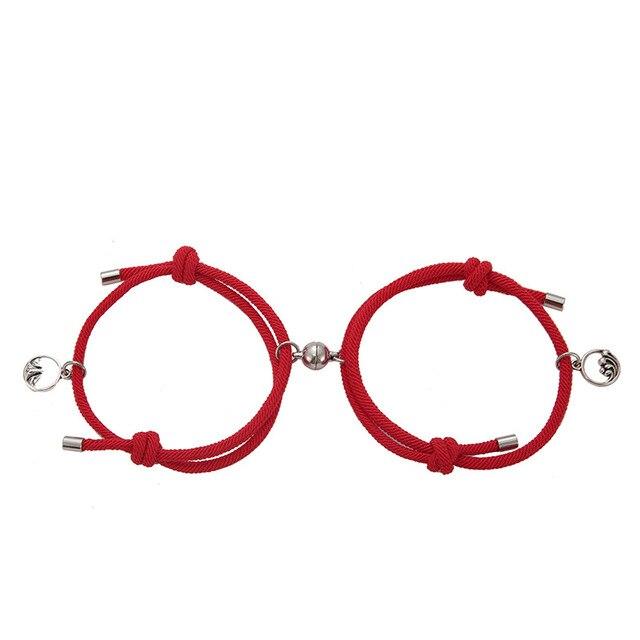 Bracelet aimant couple