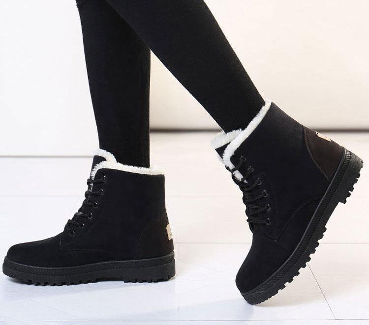 Women Shoes lace-up Winter Shoes 17