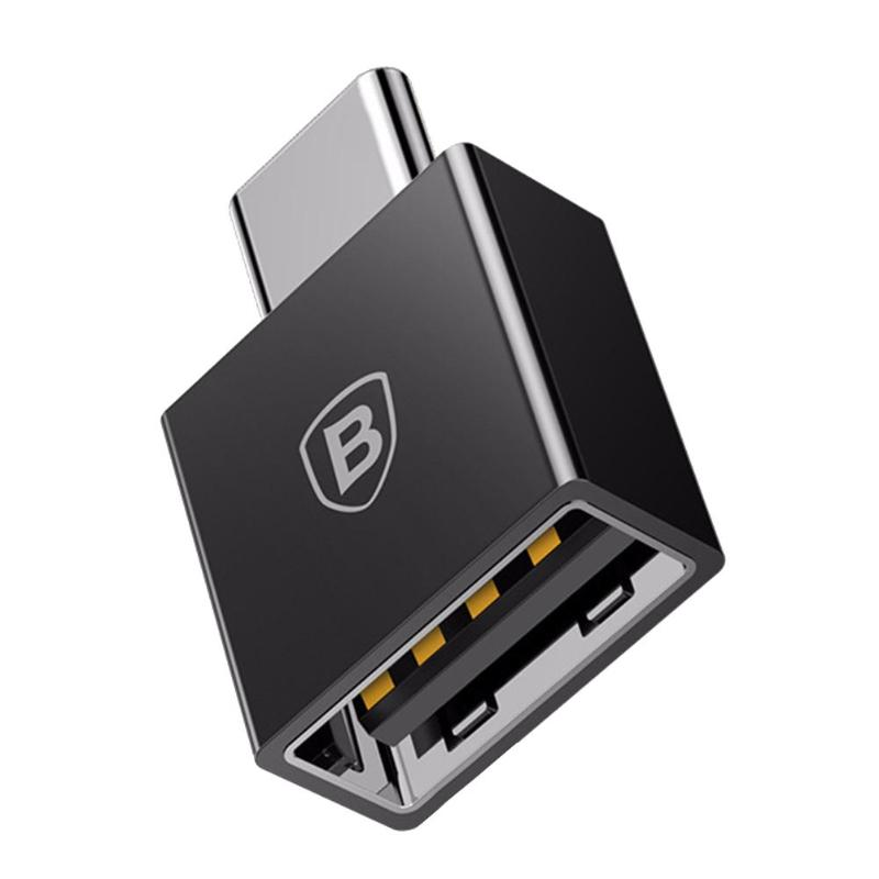 Baseus Type C Female To USB Male Cable OTG Adapter Converter Type C Female To USB Male Charger Plug Data Adapter For Notebook