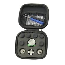 החלפה אגודל אנלוגי מקלות אוחז מקל D pad פגוש הדק כפתור בורג נהג אחסון תיק Gamepad עבור Xbox אחד עלית