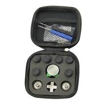Swap Thumb Analog Sticks Griffe Stick D Pad Stoßstange Trigger Taste Schraube Fahrer Lagerung Tasche Gamepad Ersatz für Xbox eine Elite