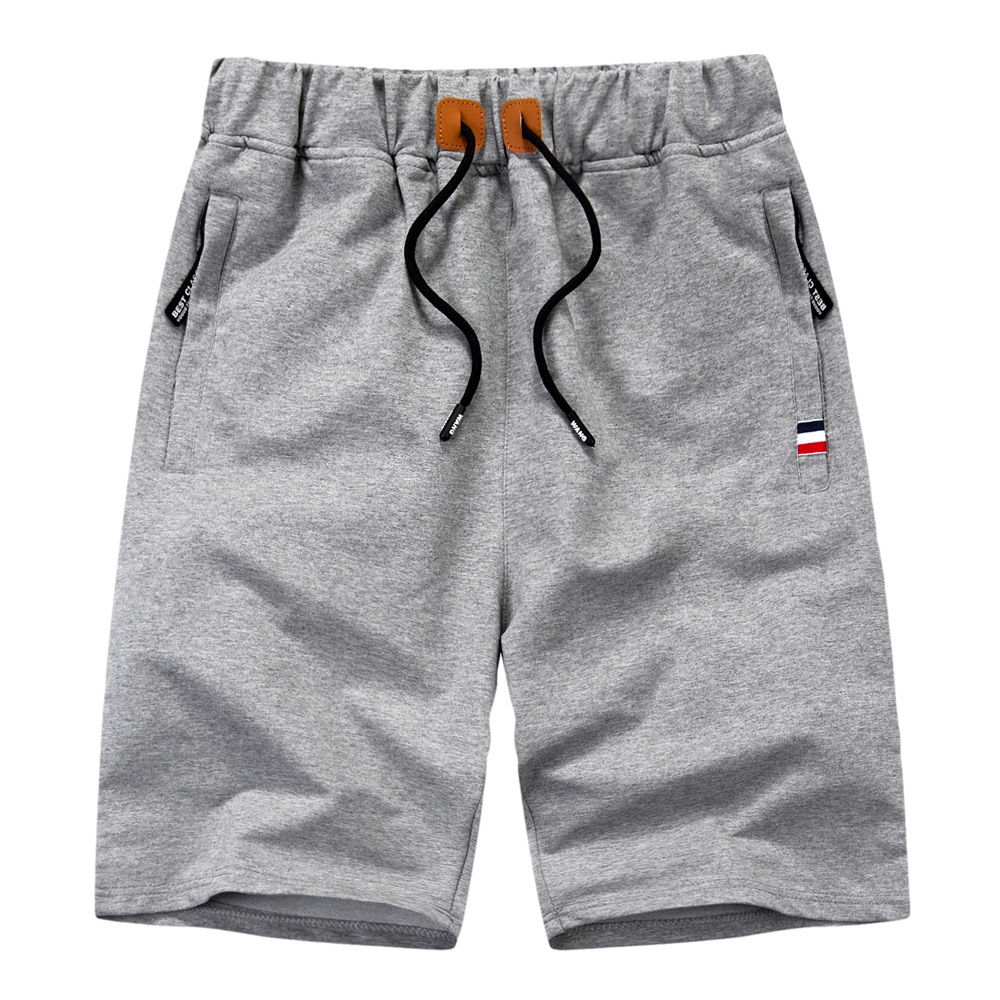 Shorts Men's 2019 Summer New Style Men Casual Shorts Beach Shorts Athletic Pants With Drawstring Large Size Cross Border Pants
